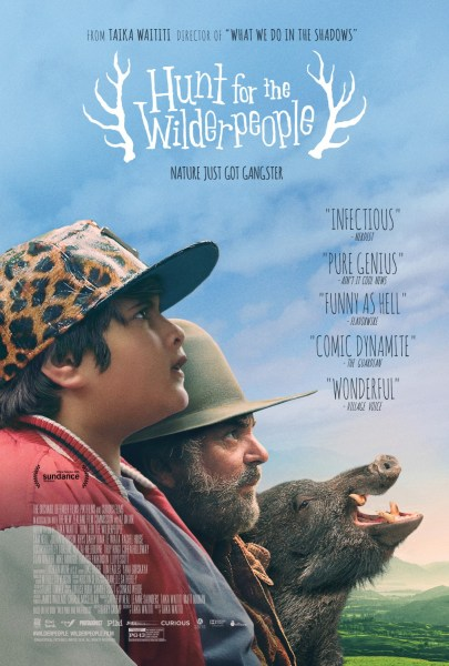 Hunt for the Wilderpeople pig poster