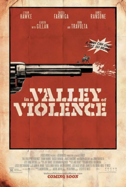 In A Valley of Violence Movie Poster