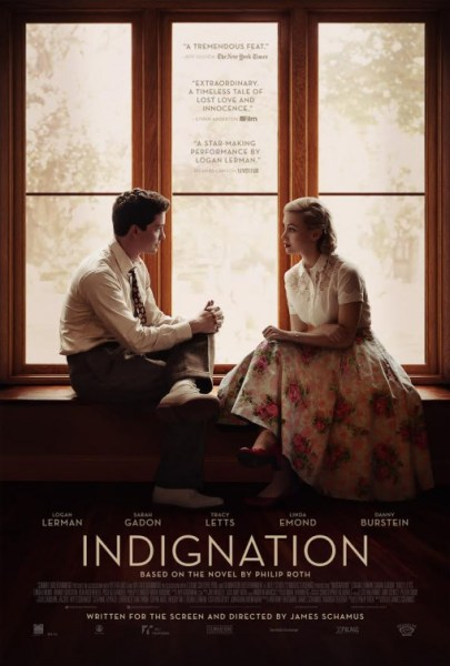 Indignation Movie Poster