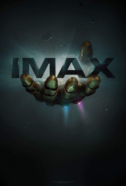Infinity War Infinity Gauntlet IMAX Poster