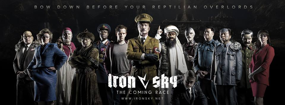 Something is. iron sky movie