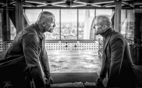 Jason Statham And Dwayne Johnson in Hobbs And Shaw (2019)