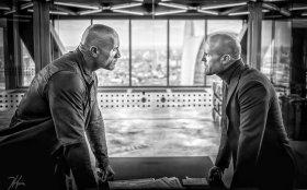 Jason Statham And Dwayne Johnson in Hobbs And Shaw (2019)
