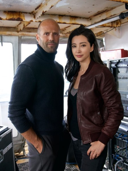 Jason Statham And Li Bingbing - Meg Movie
