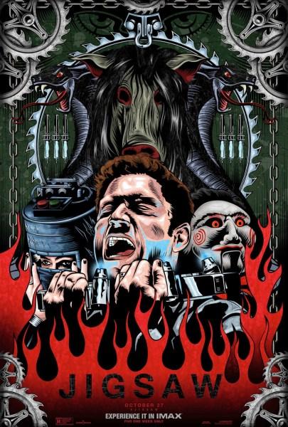 Jigsaw Artsy Poster