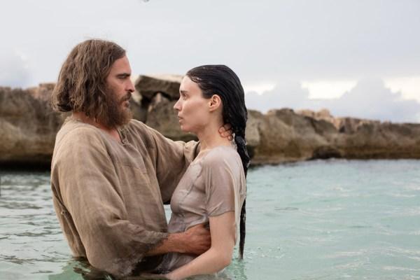 Joaquin Phoenix And Rooney Mara Mary Magdalene