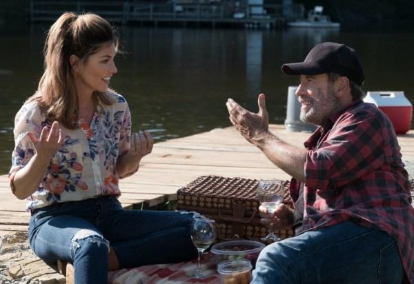 John Travolta and Shania Twain in Trading Paint (2018)