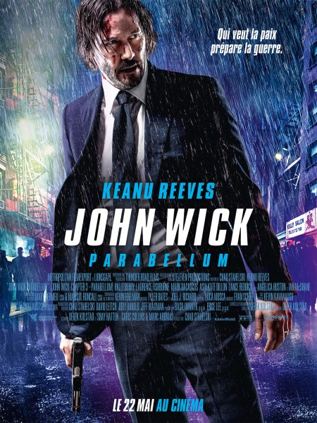 John Wick 3 Parabellum French Poster