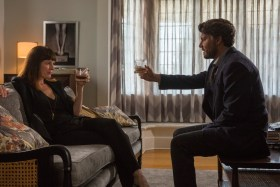 Johnny Depp And Rosemarie DeWitt In The Professor