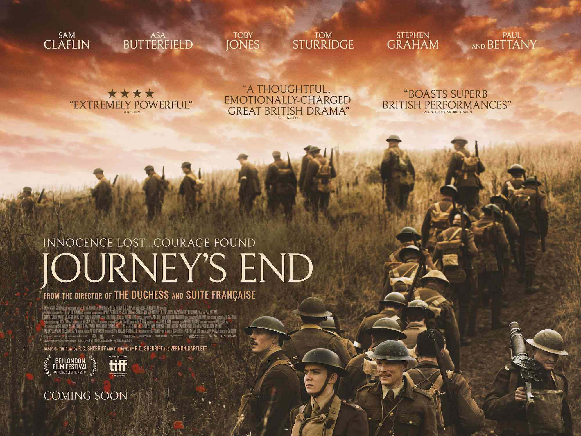 journeys end An introduction to sherriff's play for gcse candidates - updated.