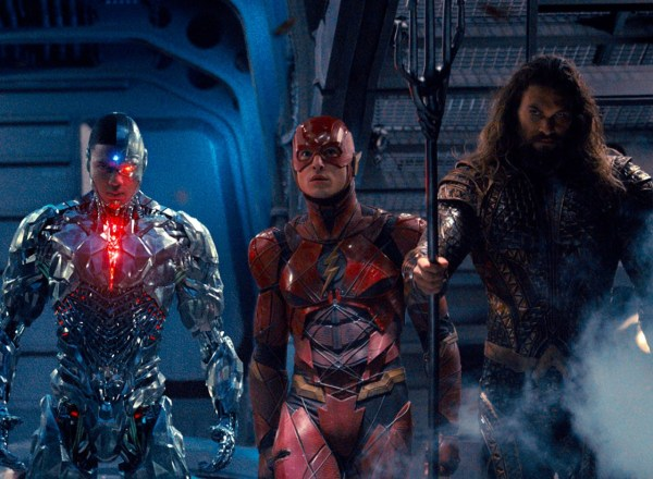 Justice League Movie - Cyborg, The Flash, And Aquaman