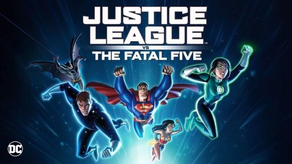 Justice League Vs The Fatal Five Movie 2019
