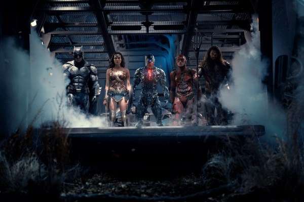 Justice League - Batman, Wonder Woman, Cyborg, Flash, and Aquaman