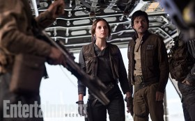 Jyn and Cassian - Star Wars Rogue One