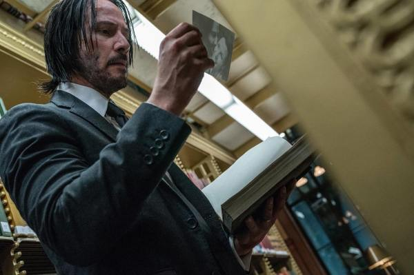 Keanu Reeves John Wick 3 Official Picture