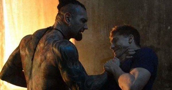 Kickboxer Vengeance movie - Bautista vs Moussi