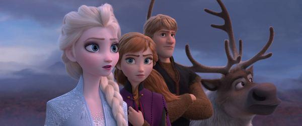 Kristen Bell, Idina Menzel, And Jonathan Groff In Frozen 2 (2019)