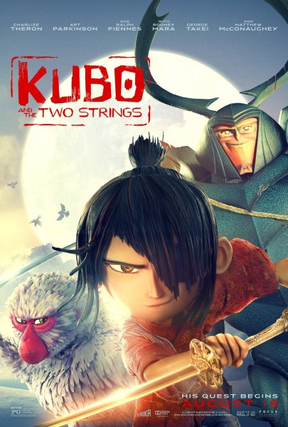 Kubo and the two strings - Stop Motion Animated movie 2016