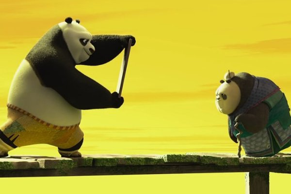 Kung Fu Panda 3 - Po and his Grandma