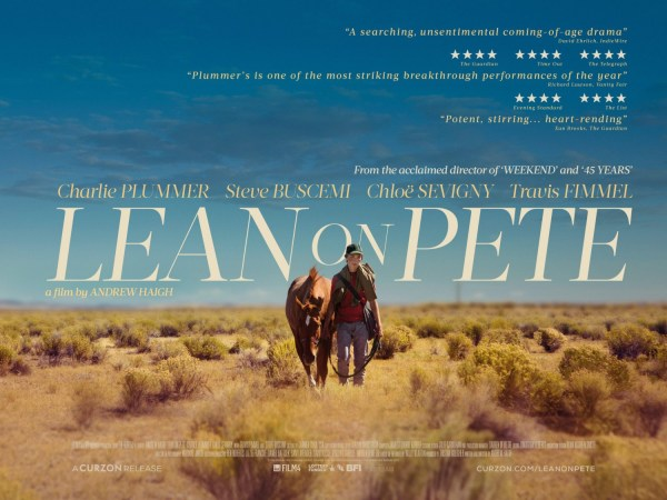 Lean On Pete New Banner