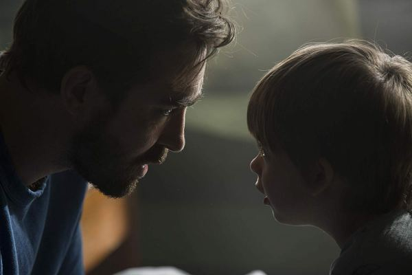 Lee Pace and Sander Thomas in The Keeping Hours