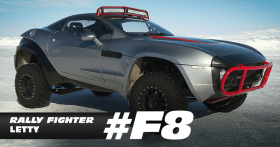 Letty's Rally Fighter - Fast 8 movie