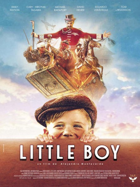 Little Boy French Poster