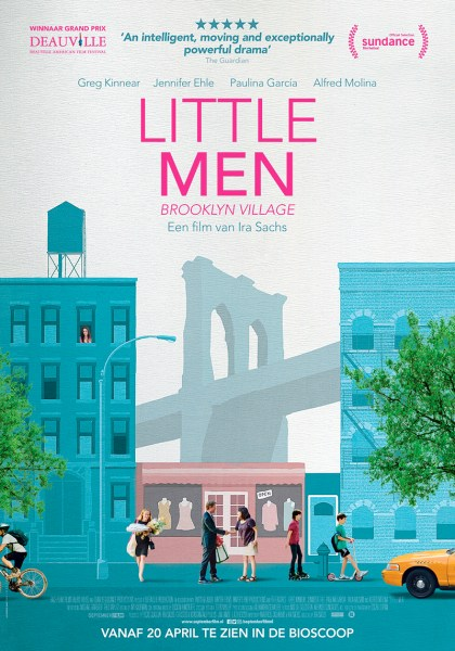 Little Men - Dutch Movie Poster