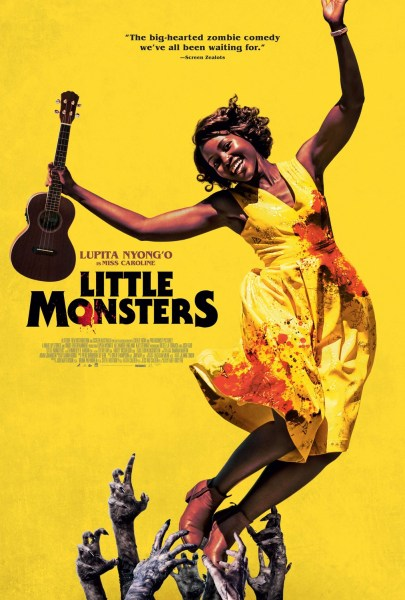 Little Monsters Yellow Poster
