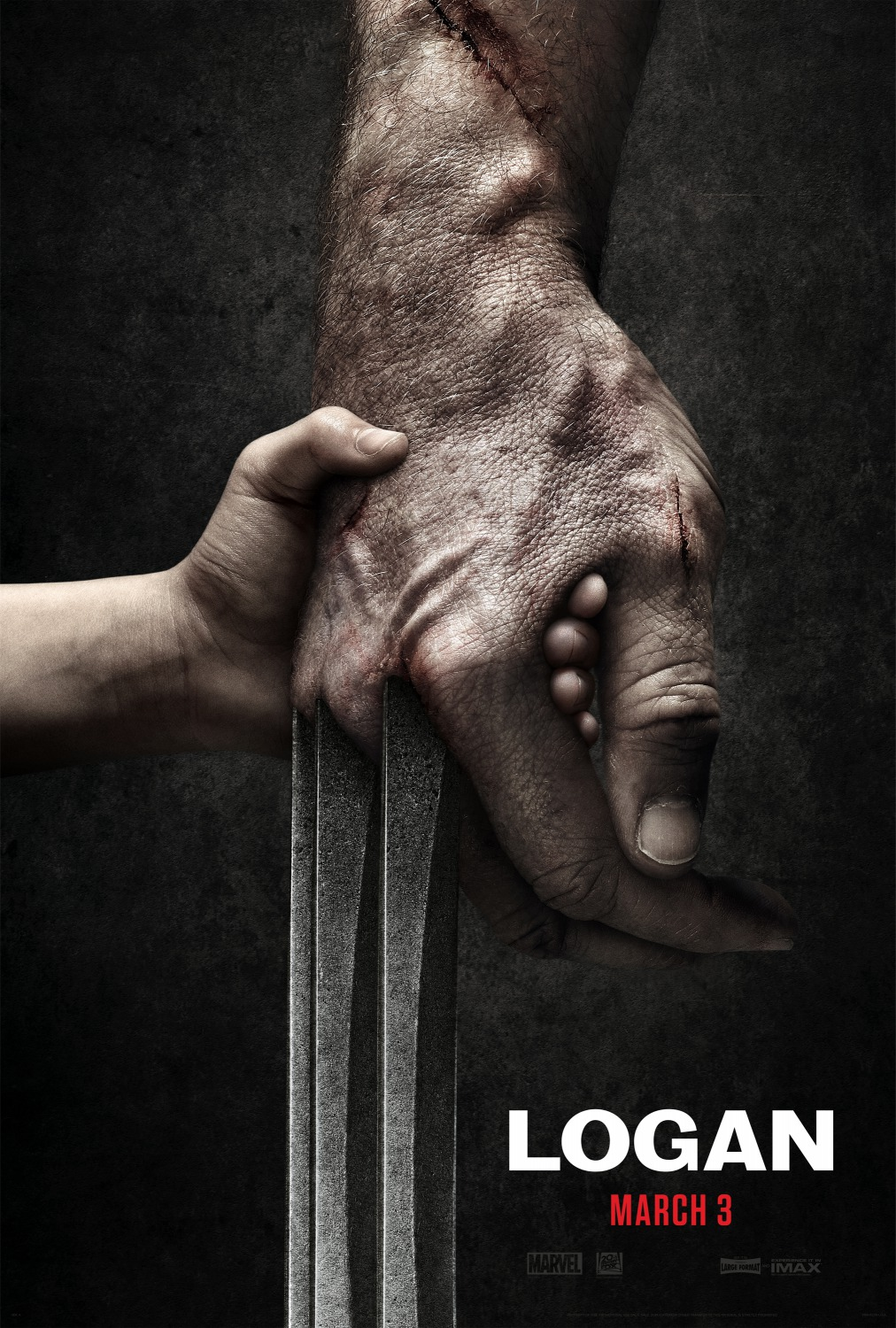 Image result for logan teaser poster