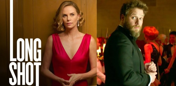 Long Shot Movie Charlize Theron And Seth Rogen