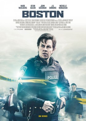 Mark Wahlberg - Patriots Day - Boston Attack Movie
