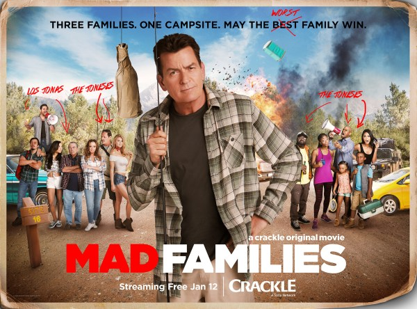 Mad Families Banner Poster