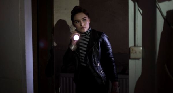Malevolent Film - Actress Florence Pugh as angela