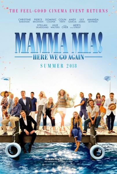 Mamma Mia 2 New Film Poster 2018