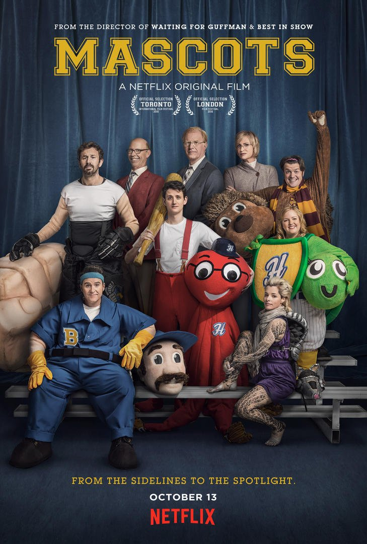 Image result for Mascots movie poster