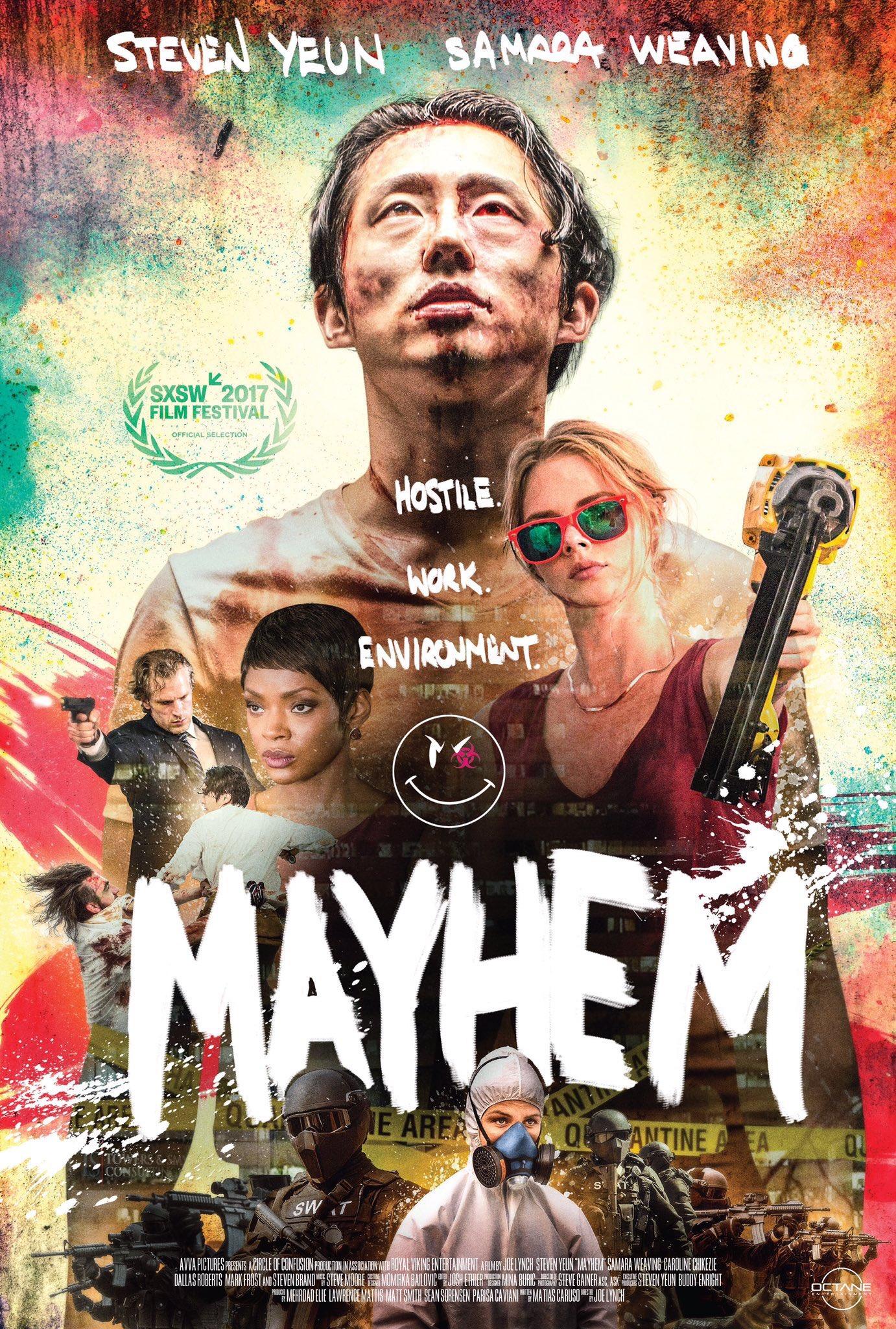 Image result for mayhem movie