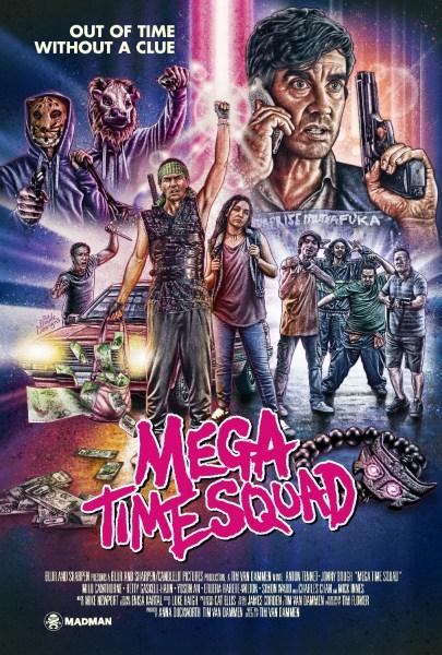 Mega Time Squad Film Poster