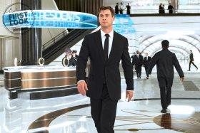 Agent H (Chris Hemsworth) in London's MIB  Headquarters in Columbia Pictures' MEN IN BLACK: INTERNATIONAL.