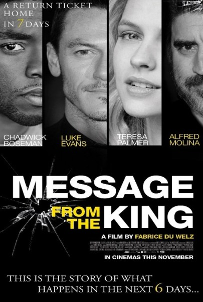 Message From The King International Poster
