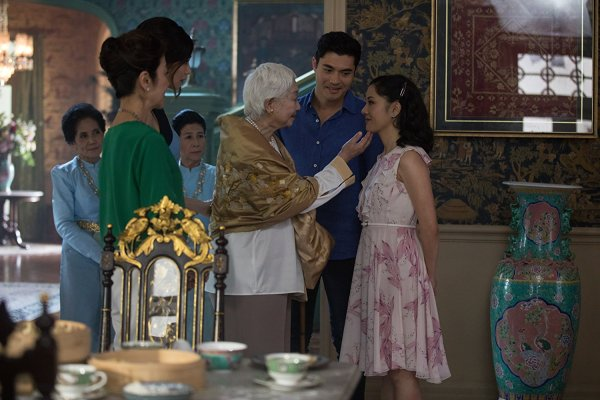 Michelle Yeoh, Constance Wu, Gemma Chan, And Henry Golding In Crazy Rich Asians