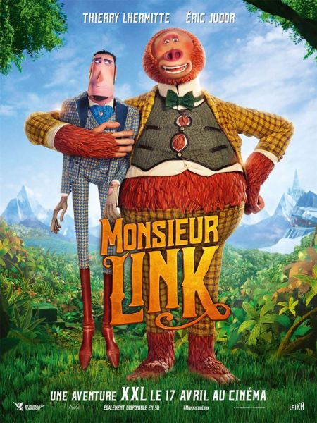 Missing Link French Poster