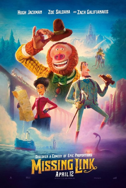 Missing Link New Film Poster