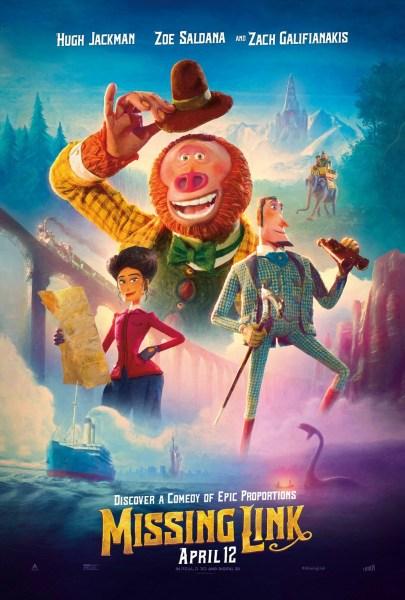 Missing Link New Film Poster