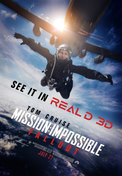Mission Impossible 6 Real 3D Poster