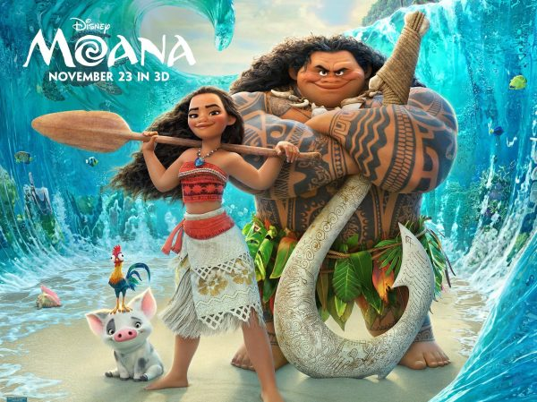 Moana and Maui - Moana movie