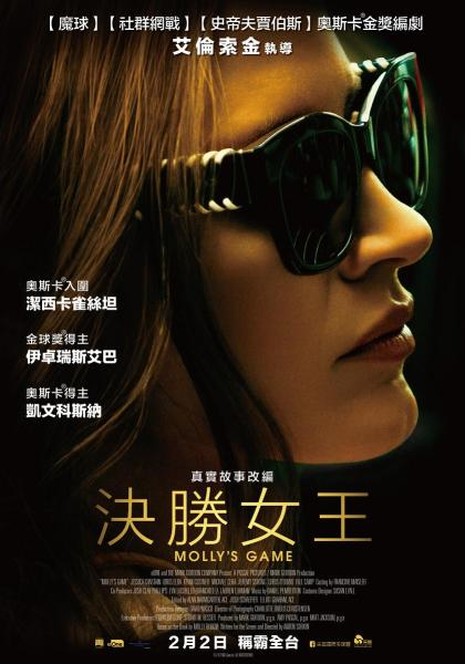 Molly's Game Asian Poster