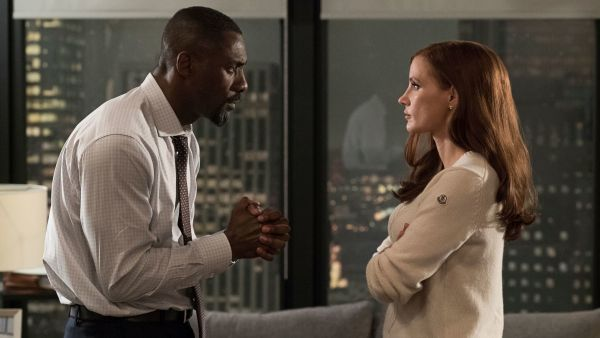 Molly's Game Movie Idris Elba And Jessica Chastain