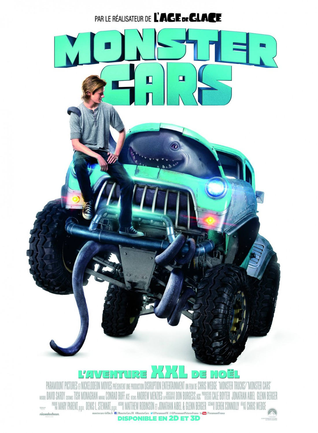 Monster Trucks Teaser Trailer