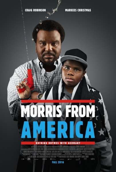 Morris from America poster - 2016 Movie